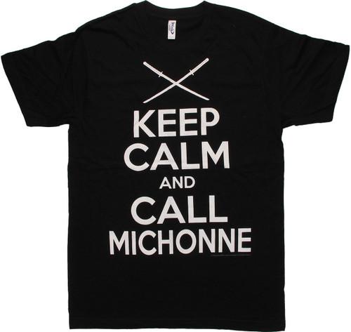 Walking Dead Call Michonne T Shirt Sheer