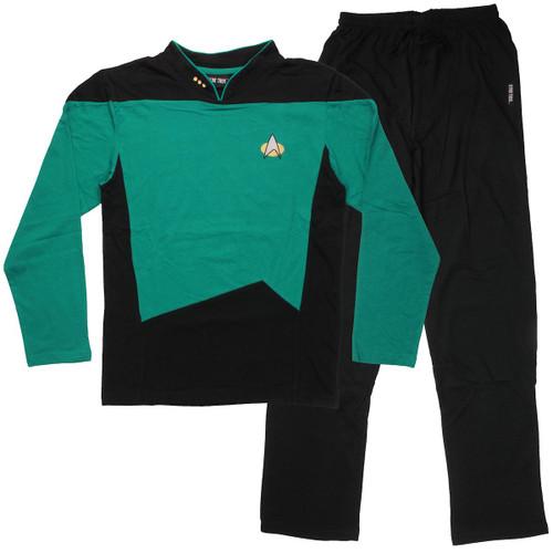 Star Trek Next Generation Sciences Pajama Set
