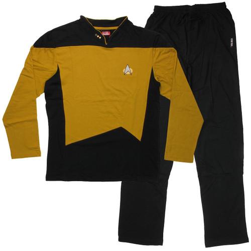 Star Trek Next Generation Operations Pajama Set