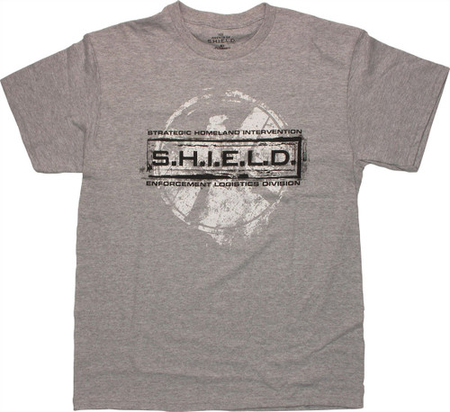 SHIELD Stamped Logo T Shirt