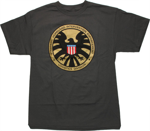 SHIELD Medallion Logo T Shirt