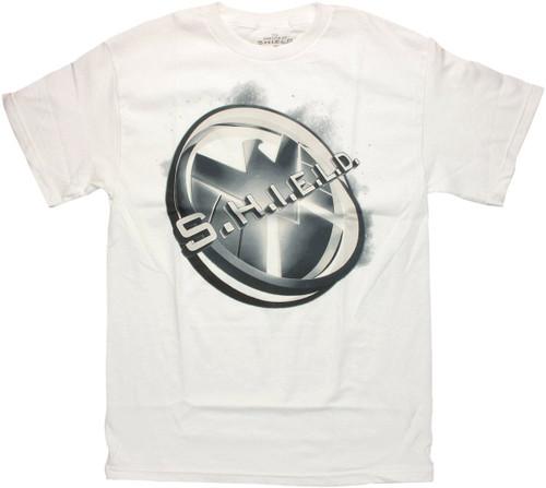 SHIELD Angled Logo T Shirt