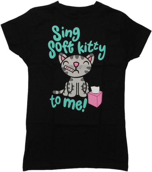 Big Bang Theory Sing Soft Kitty Baby Tee