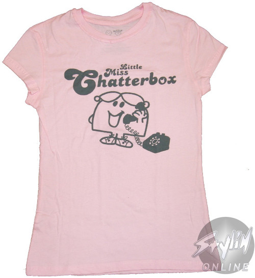 Little Miss Chatterbox Phone Baby Tee