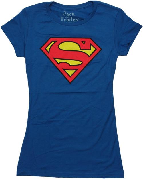 Superman Shield Logo Baby Tee