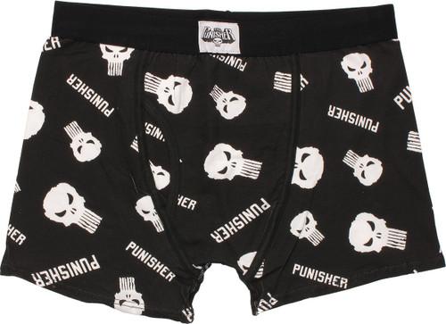 Punisher Logo Collage Boxer Briefs