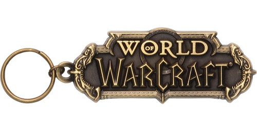 World of Warcraft Name Keychain