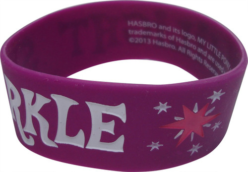 My Little Pony Twilight Sparkle Rubber Wristband
