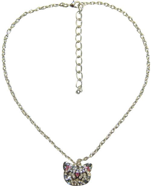 Big Bang Theory Soft Kitty Crystal Necklace
