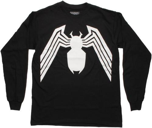 Venom Logo Long Sleeve T Shirt