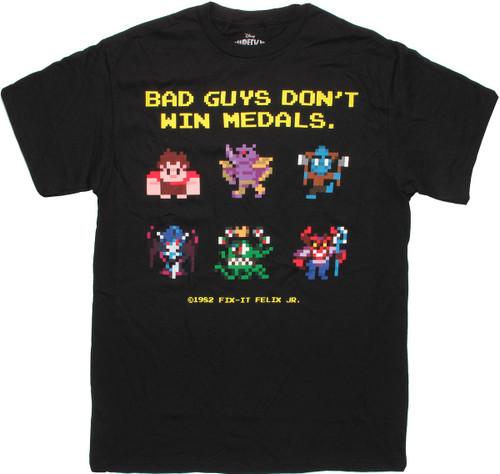 Wreck-It-Ralph Bad Guys T Shirt