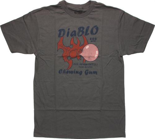 Diablo 3 DiaBLO Chewing Gum T Shirt