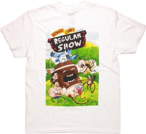 Regular Show Coffee Bean T Shirt
