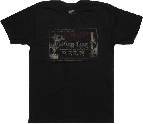 Miller High Life Delightful T Shirt Sheer