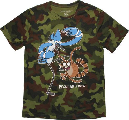Regular Show Duo Camo T Shirt