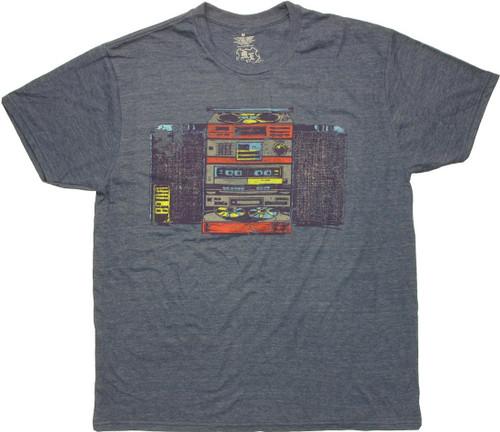 1980 Stereo System T Shirt Sheer