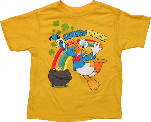 Donald Duck Lucky Toddler T Shirt