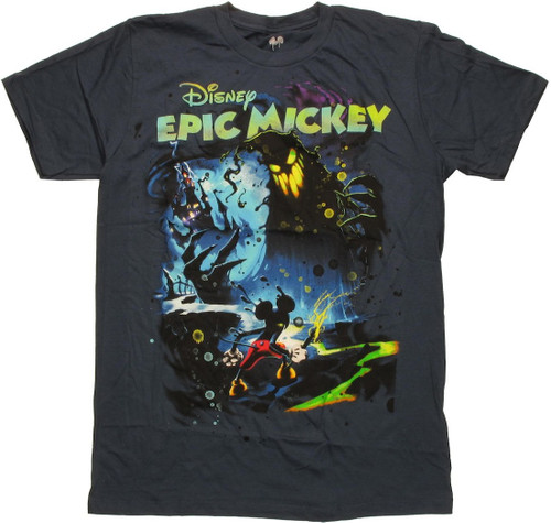 Mickey Mouse Color Flight T Shirt