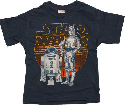 Star Wars Shaded Droids Toddler T Shirt