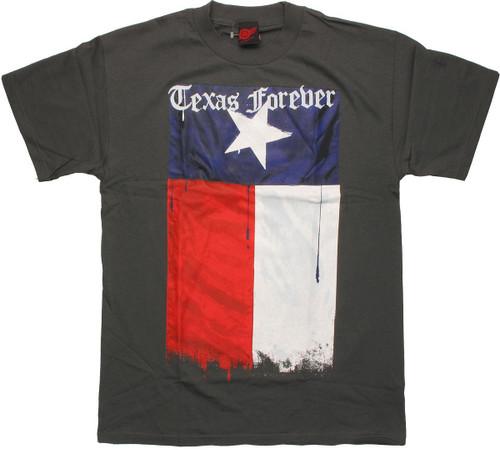 Texas Forever Gray T Shirt