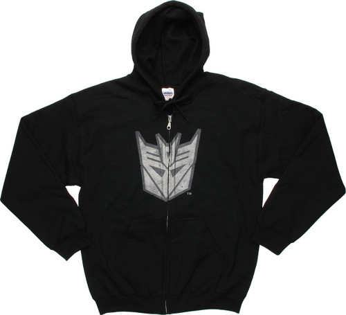 Transformers Vintage Decepticon Logo Hoodie