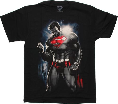 Superman Fist Sun T Shirt