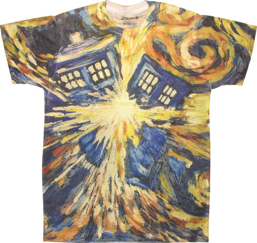 Doctor Who Pandorica Opens Sublimated T Shirt Sheer