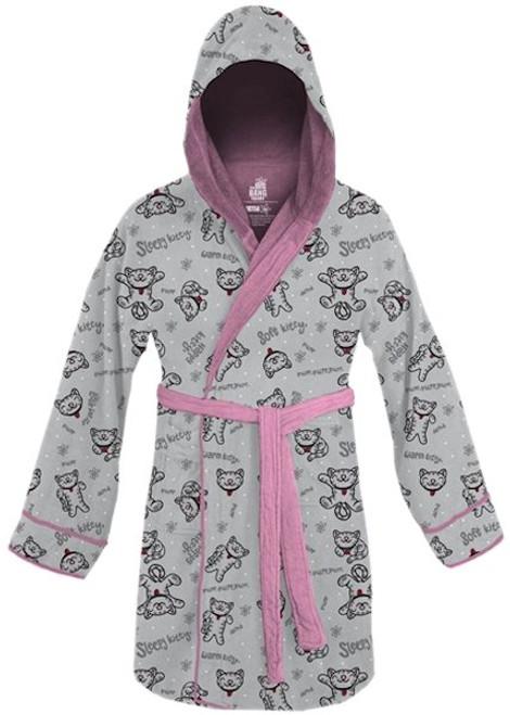 Big Bang Theory Soft Kitty Junior Hooded Robe