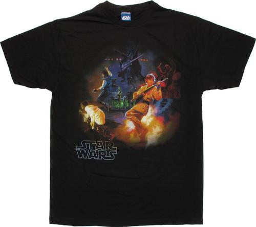 Star Wars Rock Band T Shirt Sheer