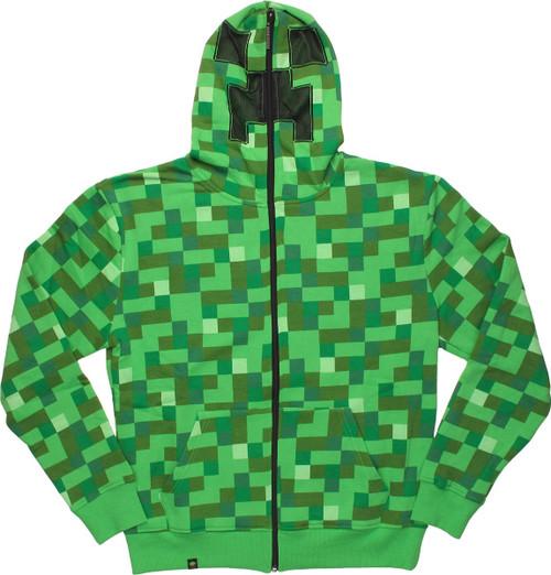 Minecraft Creeper Suit Hoodie
