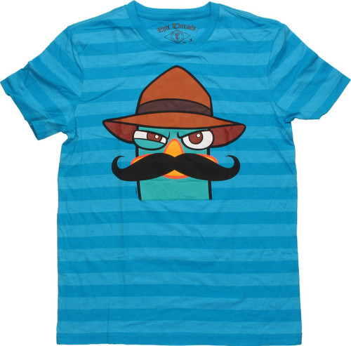Phineas and Ferb Perry Striped Youth T Shirt