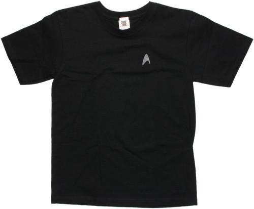 Star Trek Darkness Insignia Youth T Shirt