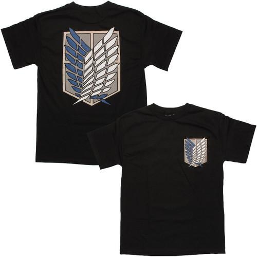 Attack on Titan Survey Corps Logo T Shirt