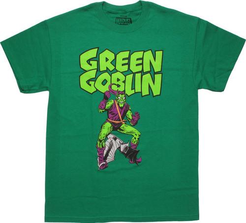 Spiderman Green Goblin Glider T Shirt