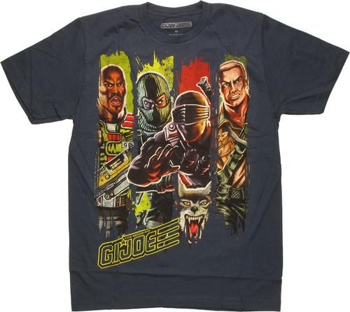 GI Joe Band of Brothers T Shirt Sheer