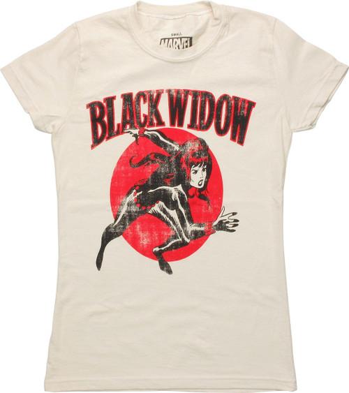 Black Widow Run Vintage Baby Tee