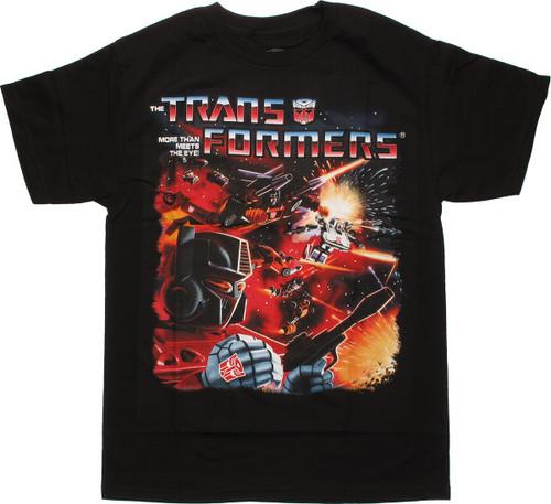 Transformers Space Battle T Shirt