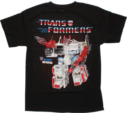 Transformers Metroplex G1 T Shirt