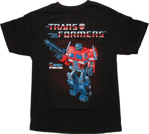 Transformers Optimus Prime G1 T Shirt