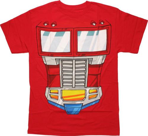 Transformers Optimus Prime T Shirt