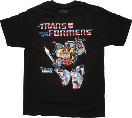 Transformers Grimlock G1 T Shirt