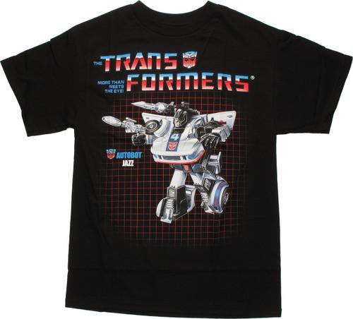 Transformers Jazz G1 T Shirt