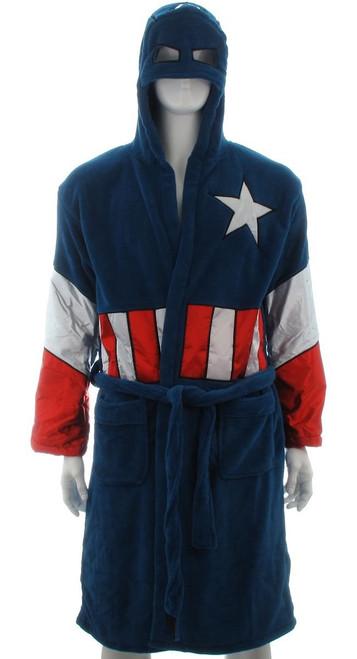 Captain America Hooded Fleece Robe b8da42be0