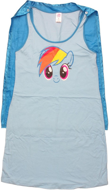 My Little Pony Rainbow Dash Caped Tank Top Dress