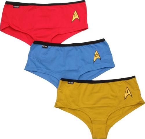 66eadc784f Star Trek Uniform Panty Set