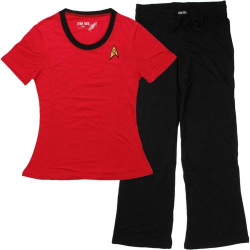 Star Trek Uhura Junior Pajama Set