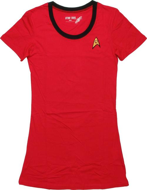 Star Trek Uhura Junior Sleep Shirt Pajamas