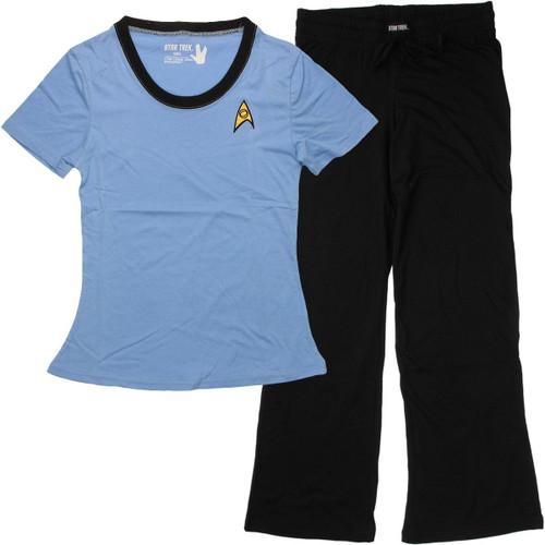 Star Trek Sciences Junior Pajama Set
