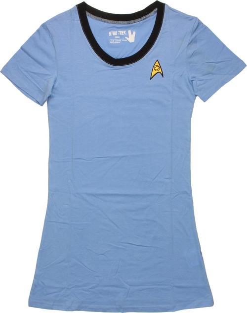 Star Trek Sciences Junior Sleep Shirt Pajamas