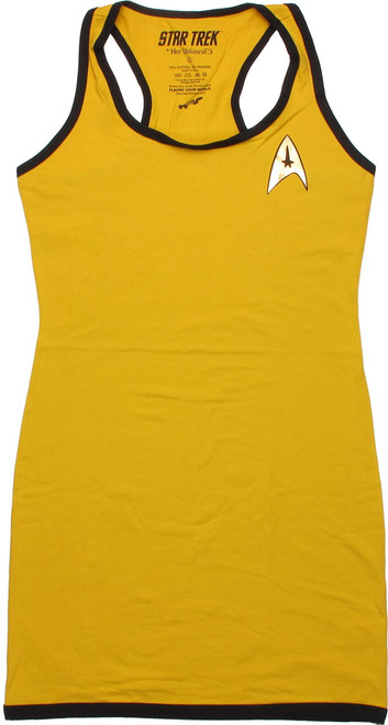 Star Trek Command Foil Insignia Tank Top Dress